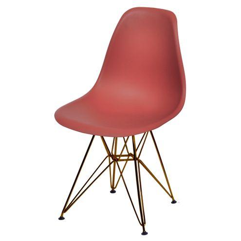 Cadeira-Eames-Polipropileno-Fosco-Telha-Base-Cobre---45977-