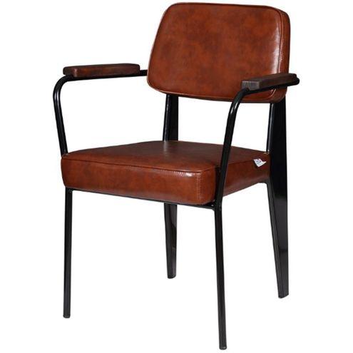 Cadeira-Jean-Provve-Estofada-c--Braco-Marrom-81-cm--ALT--