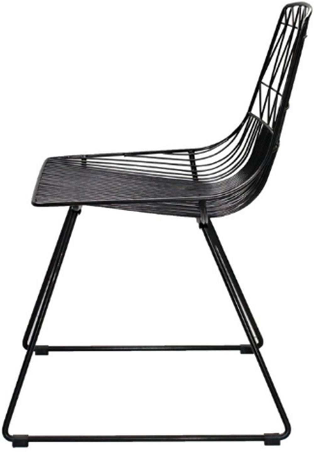 Cadeira Damasco Preto Fosco 79 cm (ALT) - 47420