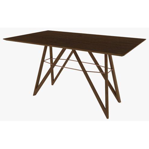 Mesa-Jantar-Triunfo-Retangular-160x90-Tampo-e-Base-em-MDF-Laminado-cor-Canela---47464