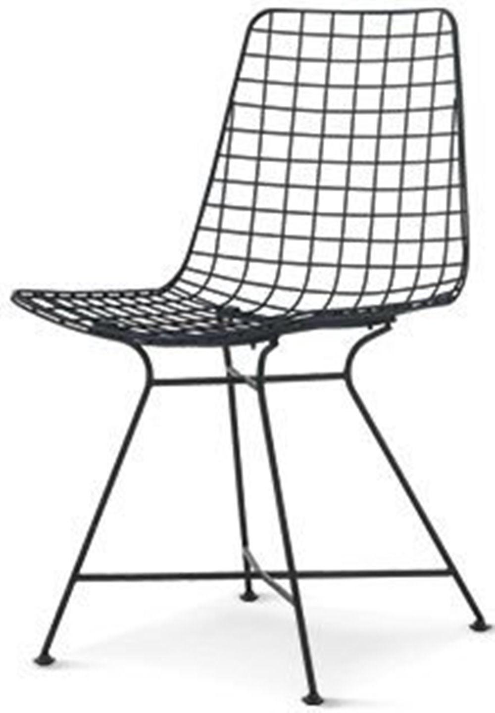 Cadeira Laos Preto Fosco 85 cm (ALT) - 47507