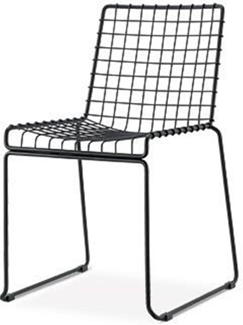 Cadeira Bert Preto Fosco 84 cm (ALT) - 47510