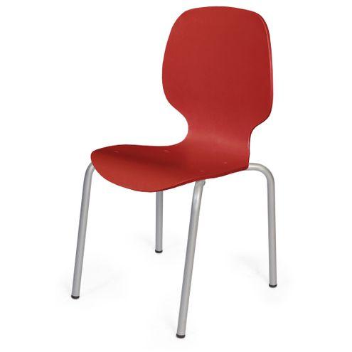 Cadeira-Formiga-em-Polipropileno-Vermelho-com-Pes-Aco-Carbono---48014-