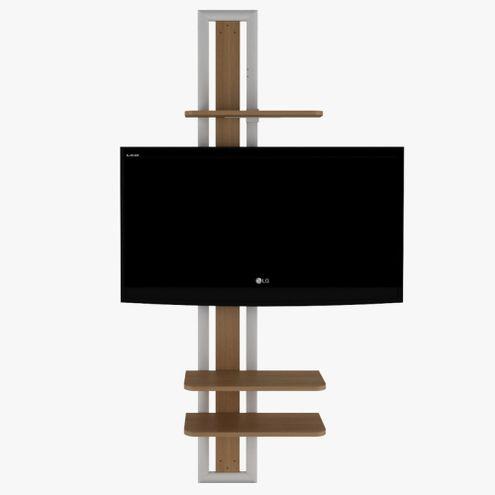 Rack-Giratorio-Tech-em-MDF-cor-Natural-UV-com-Metal-Epoxi-Branco---48659