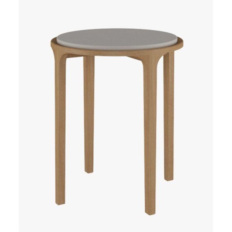 Mesa-de-Canto-Atrium-55-cm--LARG--Tampo-MDF-Laca-Off-White-com-Base-Natural---48727
