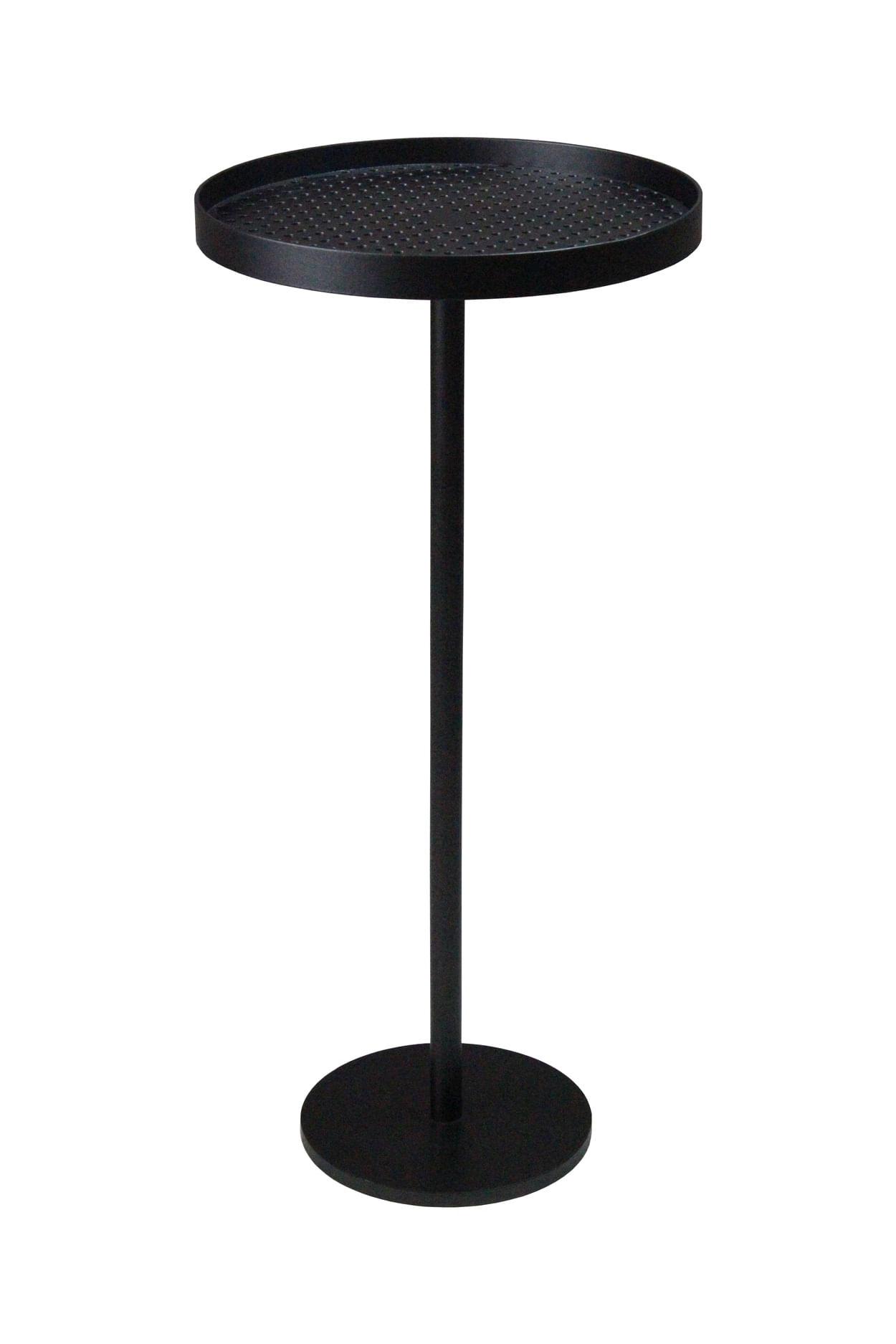 Mesa Apoio Cooper Media em Aco Carbono cor Preto 55 cm (ALT) - 48868
