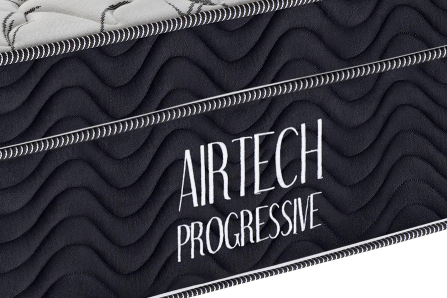 Colchao Airtech Progressive Nanolastic Casal  1,38 cm (LARG) - 49051