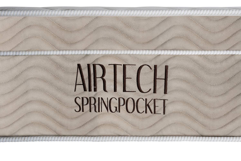 Colchao Airtech Spring Superpocket Casal 1,38 cm (LARG) - 49056