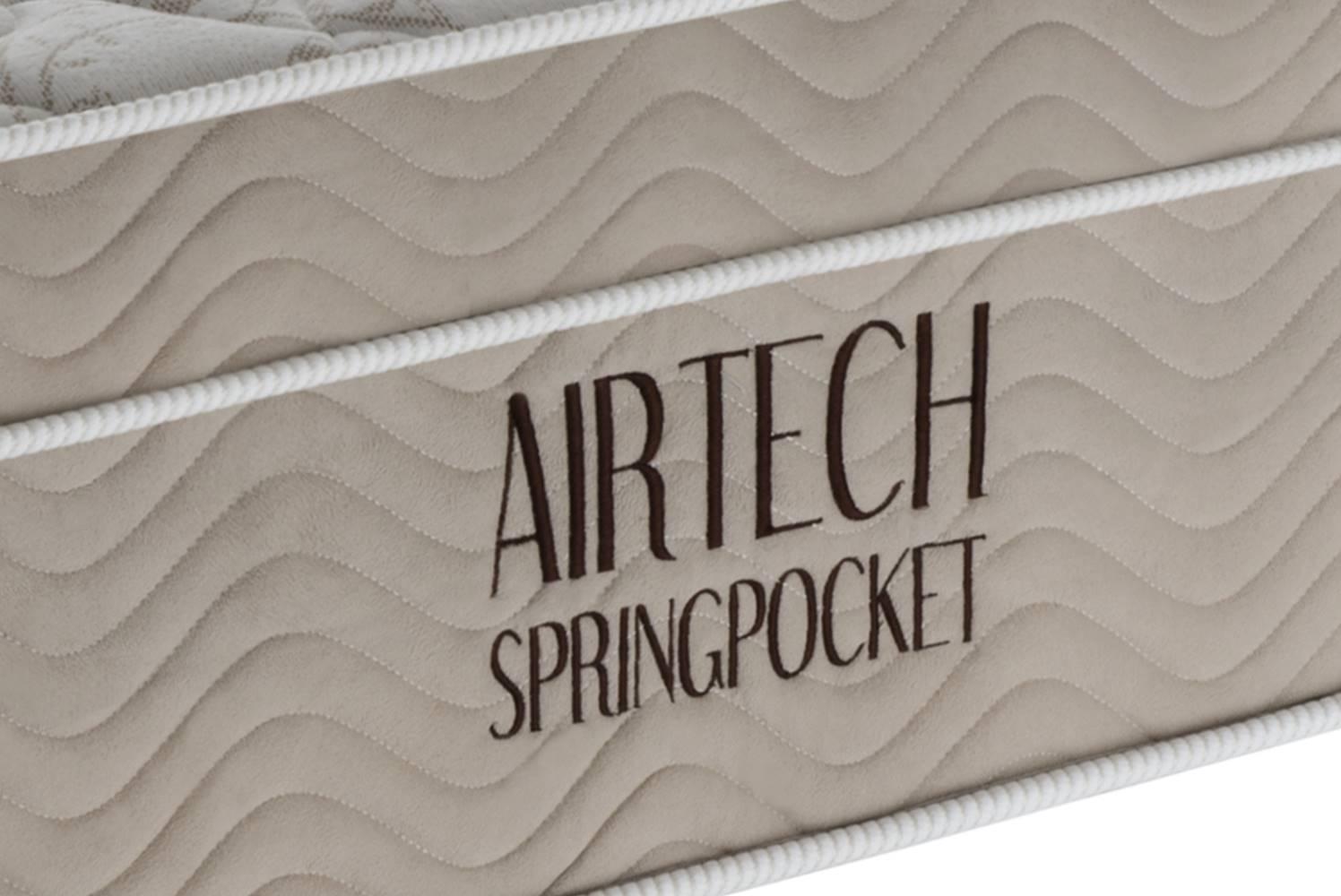 Colchao Airtech Spring Superpocket Queen 1,58 cm (LARG) - 49057