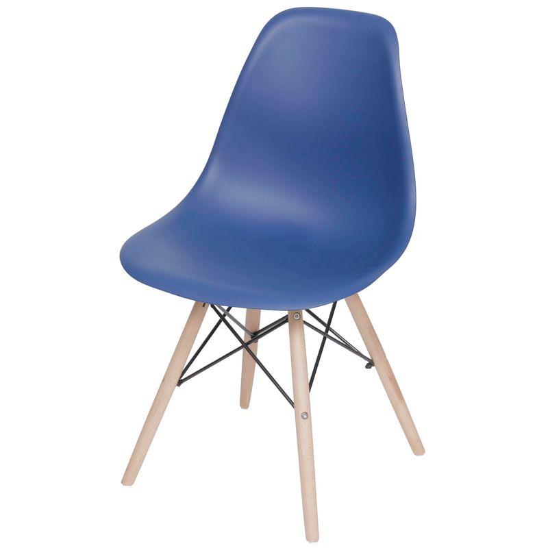 Cadeira-Eames-Polipropileno-Azul-Marinho-Fosco-Base-Madeira---49322