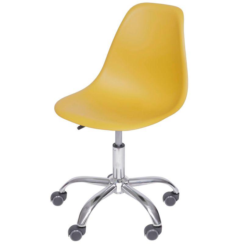 Cadeira-Eames-com-Rodizio-Polipropileno-Acafrao---49335