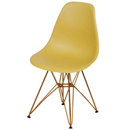 Cadeira-Eames-Polipropileno-Fosco-Acafrao-Base-Cobre---49372-