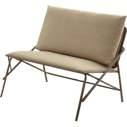Poltrona-Industrial-Vini-Assento-Estofado-Bege-com-Base-Aco-Cor-Ouro-Envelhecido--49474-