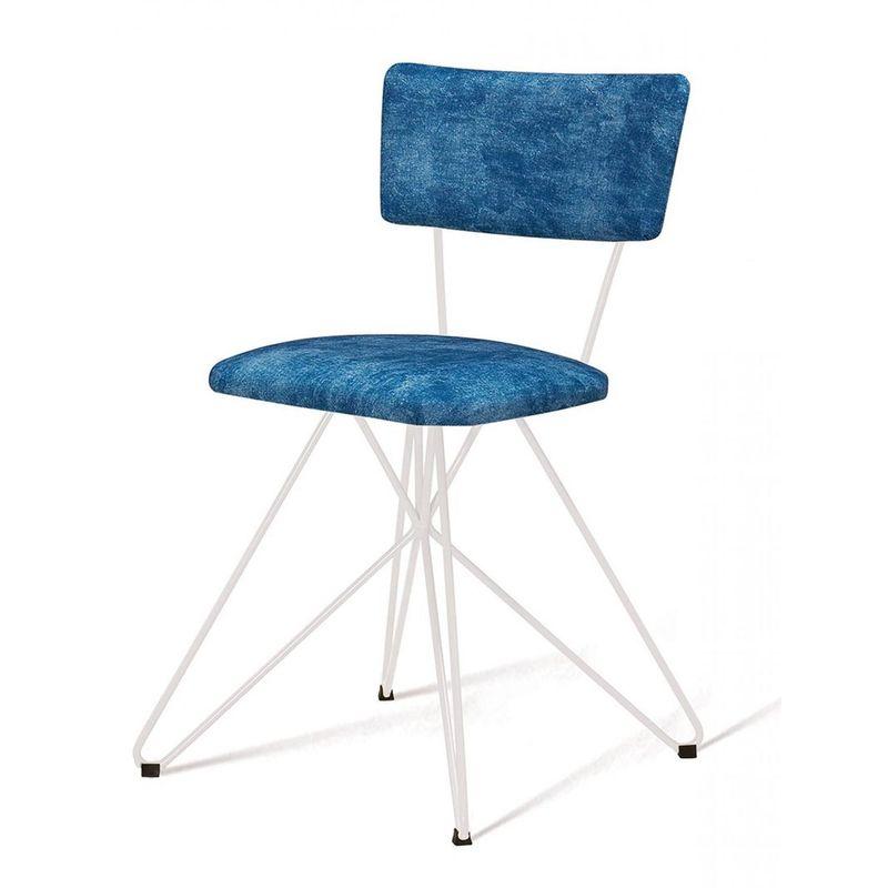 Cadeira-Estofada-Pop-Azul-Com-Base-Estrela-Branca---49563