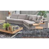 Sofa-Style-Bege-Pes-Amendoa-3-Lugares-com-Canto-Chaise---49594-