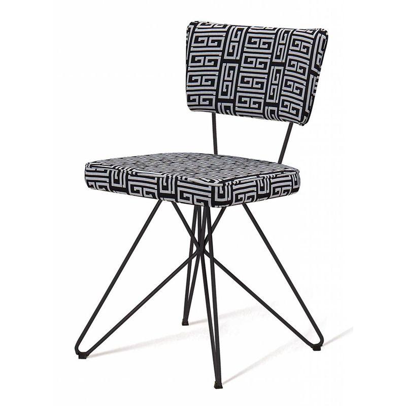 Cadeira-Pop-Retro-Estampa-Maze-Base-Estrela-Preta---49598