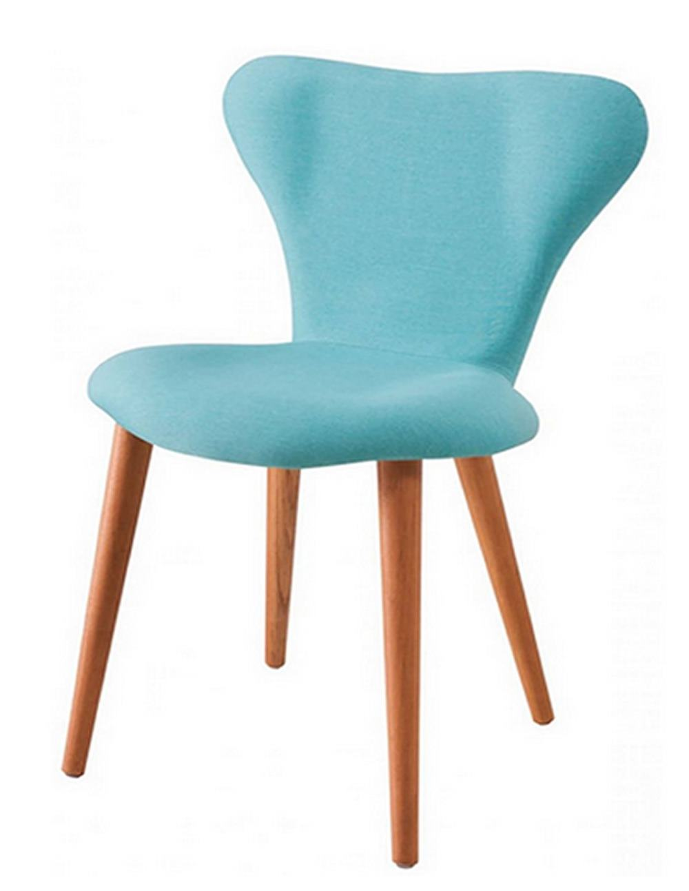 Cadeira Jacobsen Series 7 Azul com Pes Palito Tauari - 49607