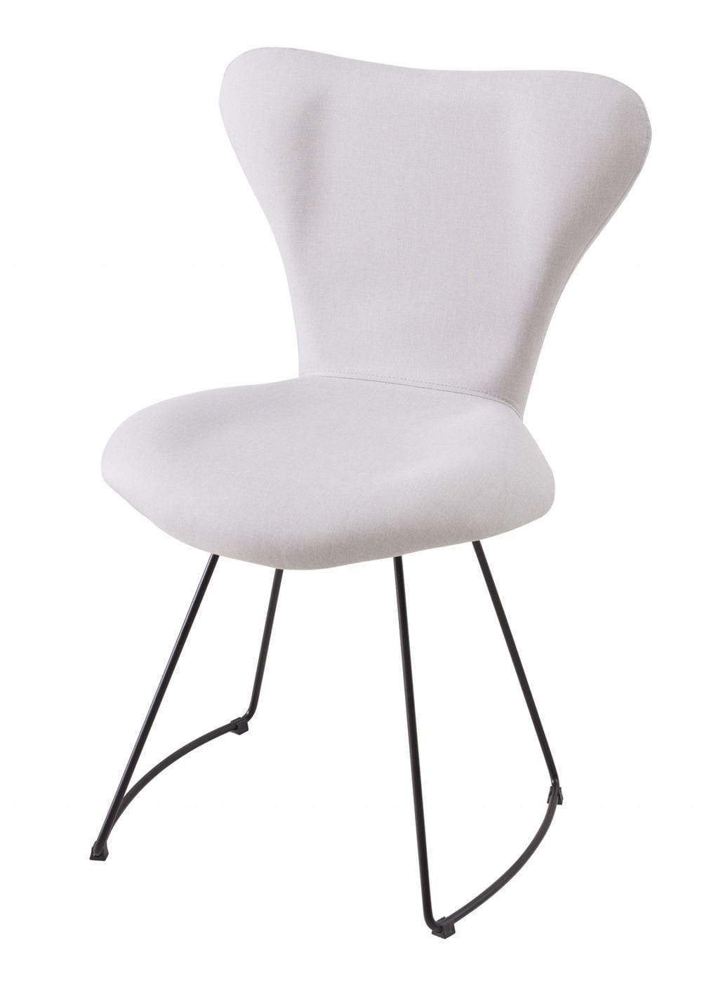 Cadeira Jacobsen Series 7 Gelo com Base Curve Preta - 49612