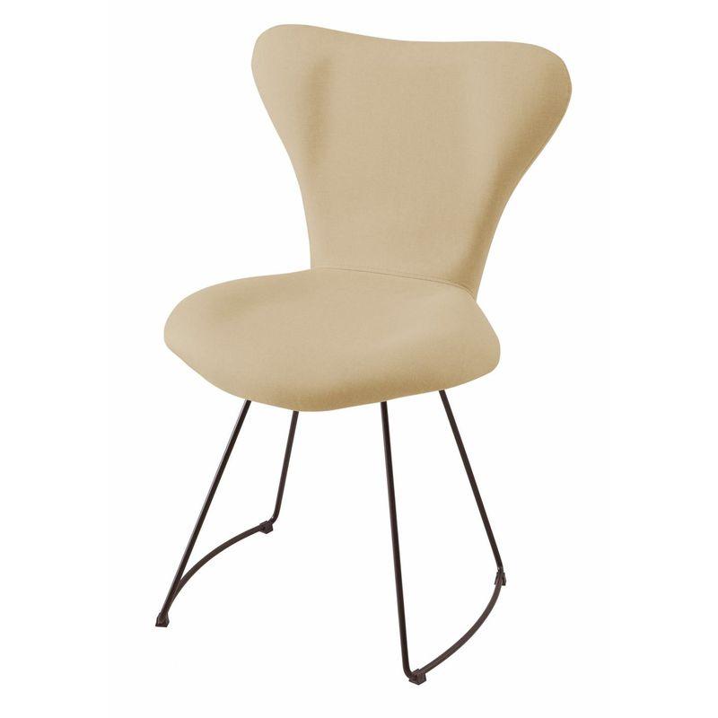 Cadeira-Estofada-Series-7-Areia-com-Base-Curve-Preta---49613-