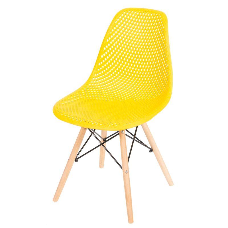 Cadeira-Eames-Furadinha-cor-Amarela-com-Base-Madeira---50008