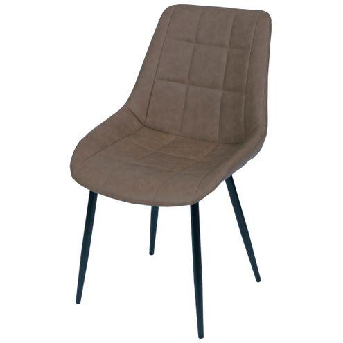 Cadeira-Lounge-PU-Cafe-com-Costura-Quadriculada---50019