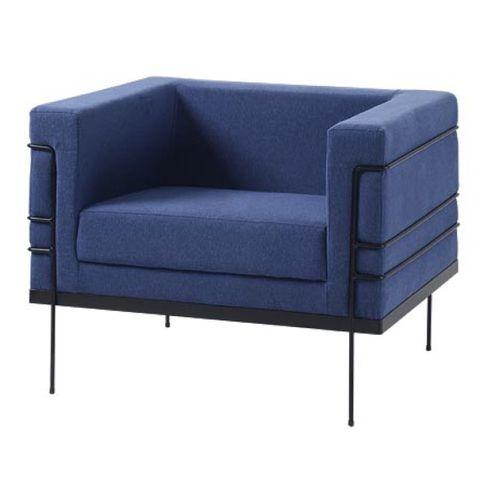 Poltrona-Le-Corbusier-Azul-Escuro-Base-Preta---50169