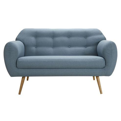 Sofa-Liverpool-Azul-Pes-Palito-Castanho-2-Lugares---50254
