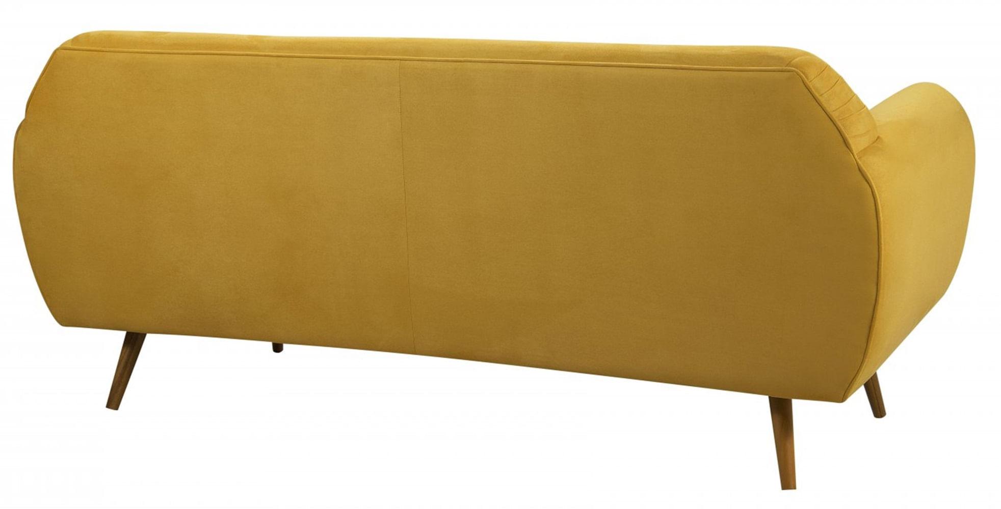 Sofa Liverpool Areia Base Palito Castanho 3 Lugares - 50261