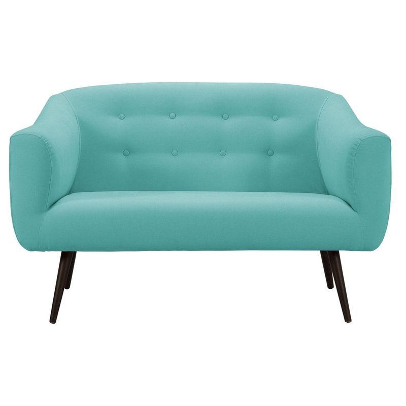 Sofa-Zap-Azul-Claro-Pes-Palito-Tabaco-2-Lugares---50292