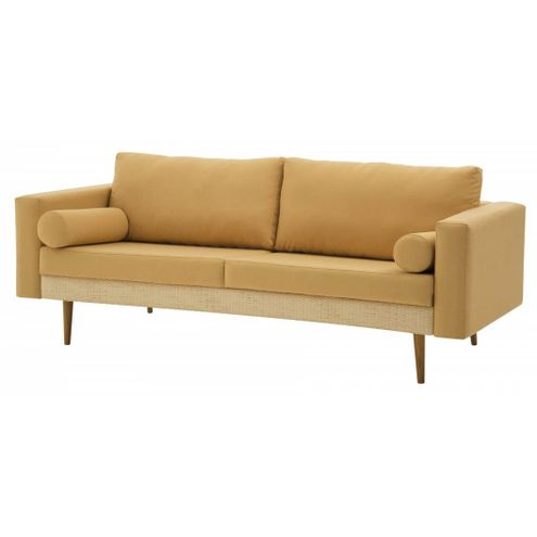 Sofa-Rolls-Areia-com-Palha-Natural-Pes-Castanho-2-Lugares---50355