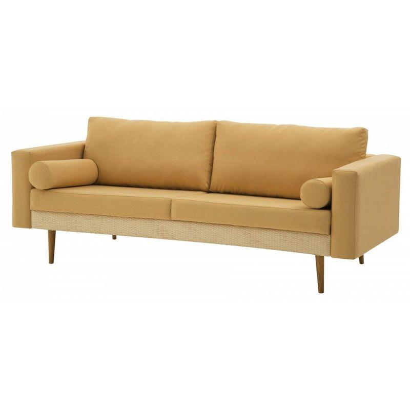 Sofa-Rolls-Areia-com-Palha-Natural-Pes-Castanho-3-Lugares---50357