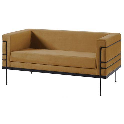 Sofa-Le-Corbusier-Caramelo-Base-Aco-Preto-2-Lugares---50362-