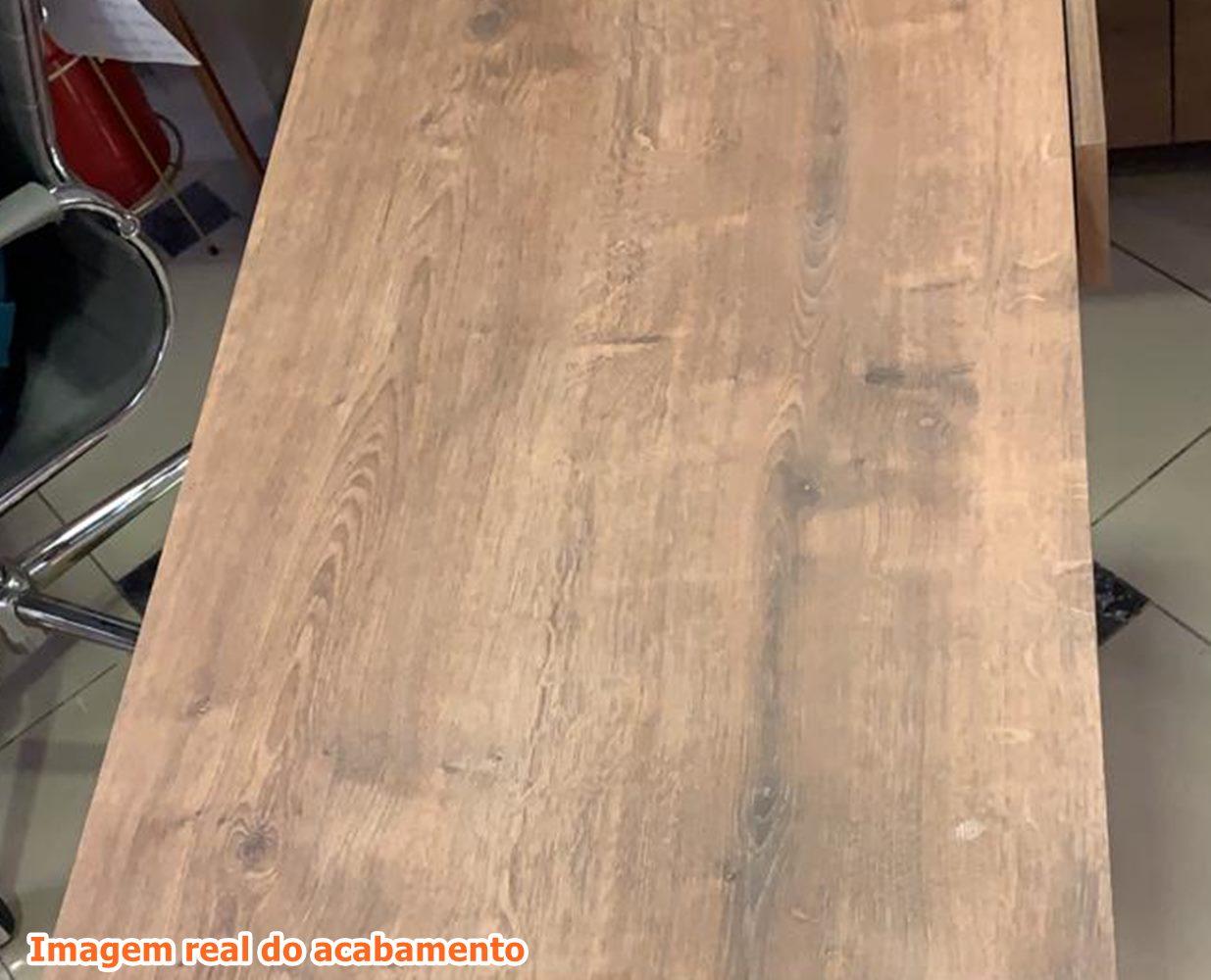 Escrivaninha Kea cor Vermont com Estrutura Preto Fosco  93 cm (LARG) - 47953