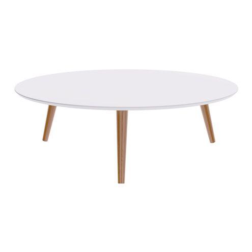 Mesa-Centro-Formato-Tampo-Branco-Fosco-com-Pes-Claros-90-cm--LARG----50500