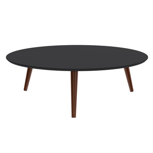 Mesa-Centro-Formato-Tampo-Preto-Fosco-com-Pes-Escuros-90-cm--LARG----50502