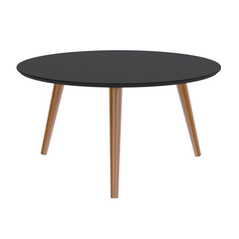 Mesa-Centro-Formato-Tampo-Preto-Fosco-com-Pes-Claros-70-cm--LARG----50510-