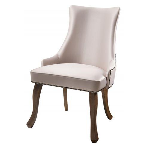 Cadeira-Rocaille-Rosa-Claro-Base-Castanho---50578-