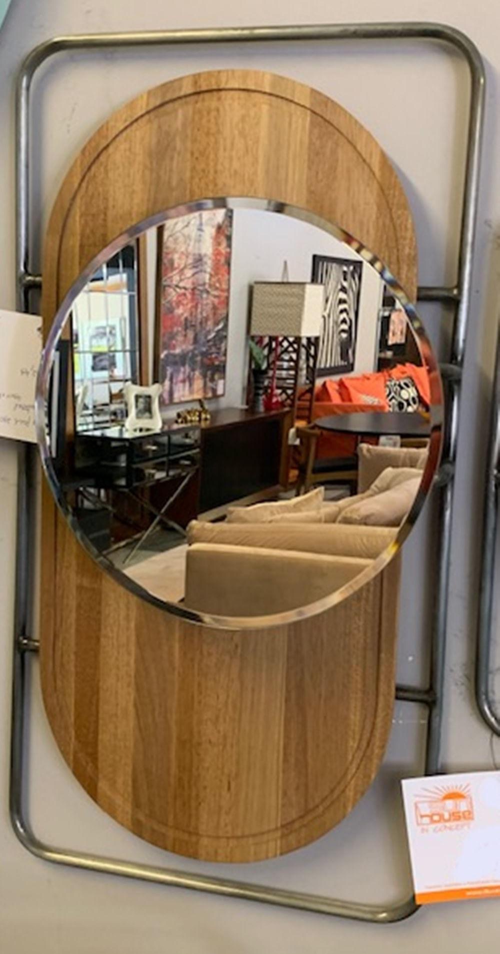 Espelho Capsule Base Retangular Metalica 80 cm (ALT) - 50457