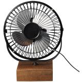 Mini-Ventilador-USB-Air-cor-Rustic-Brown-com-Aco-Grafite---50081