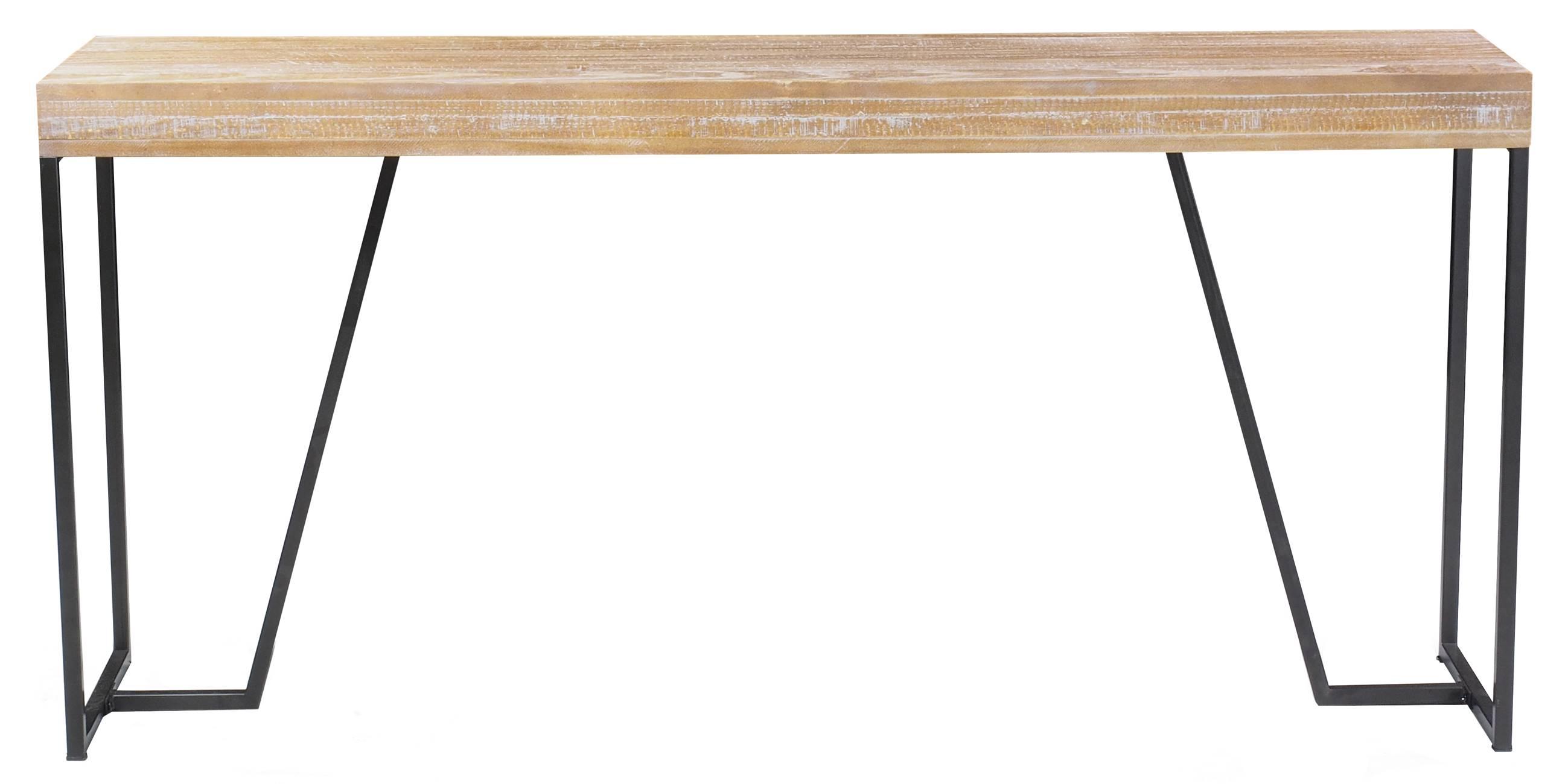 Aparador Space cor Driftwood com Base Aco Grafite 1,60 MT (LARG) - 50808