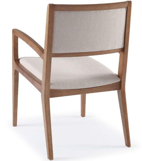 Cadeira Farm com Bracos Assento e Encosto Estofados - 51166