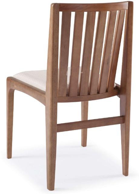 Cadeira Brisa Encosto Ripado Assento Estofado - 51168