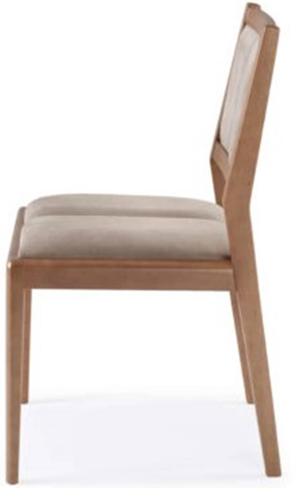 Cadeira Mountain Encosto Estofado Assento Estofado - 50923