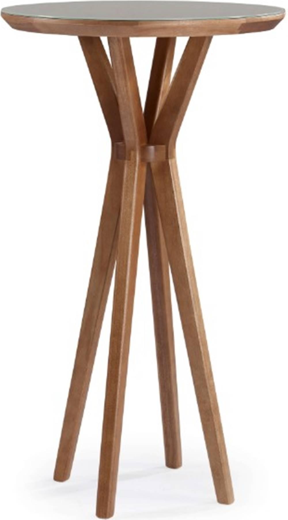 Mesa Bistro Natu com Tampo de Vidro 60 cm (LARG) - 51201