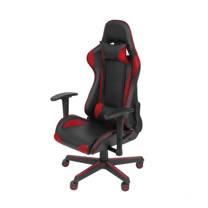 Cadeira-Office-Gamer-Fun-em-PU-cor-Preta-e-Vermelha-com-Base-Nylon---51837
