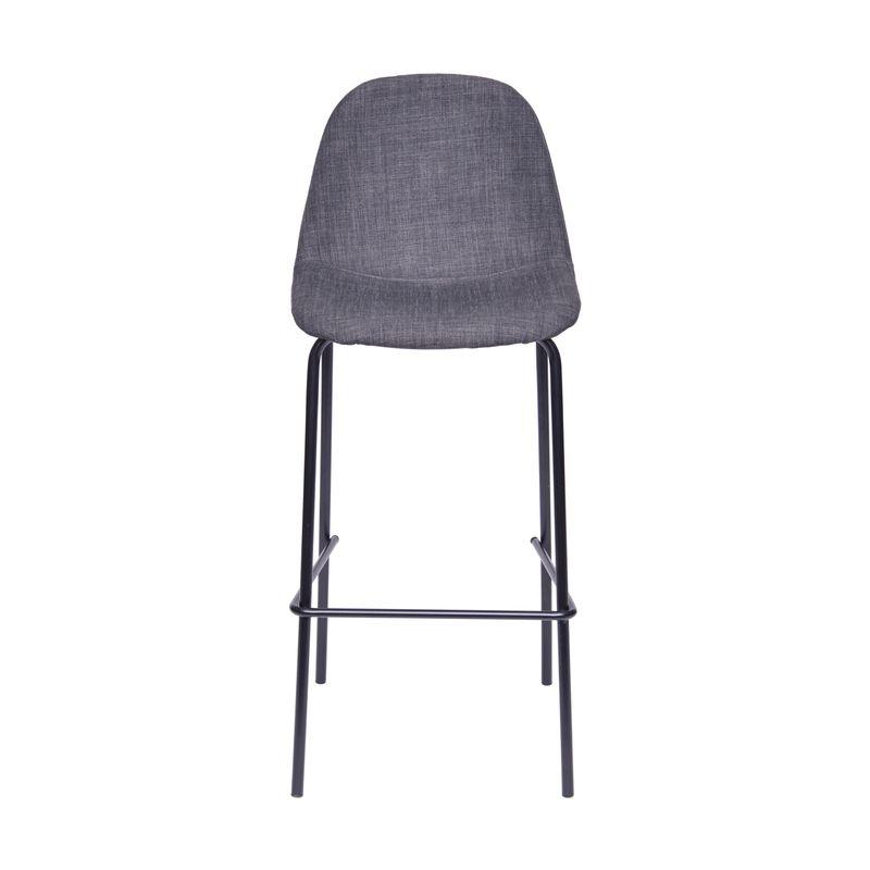 Banqueta-Eames-Retro-Linho-Grafite-Estrutura-Preta---45542
