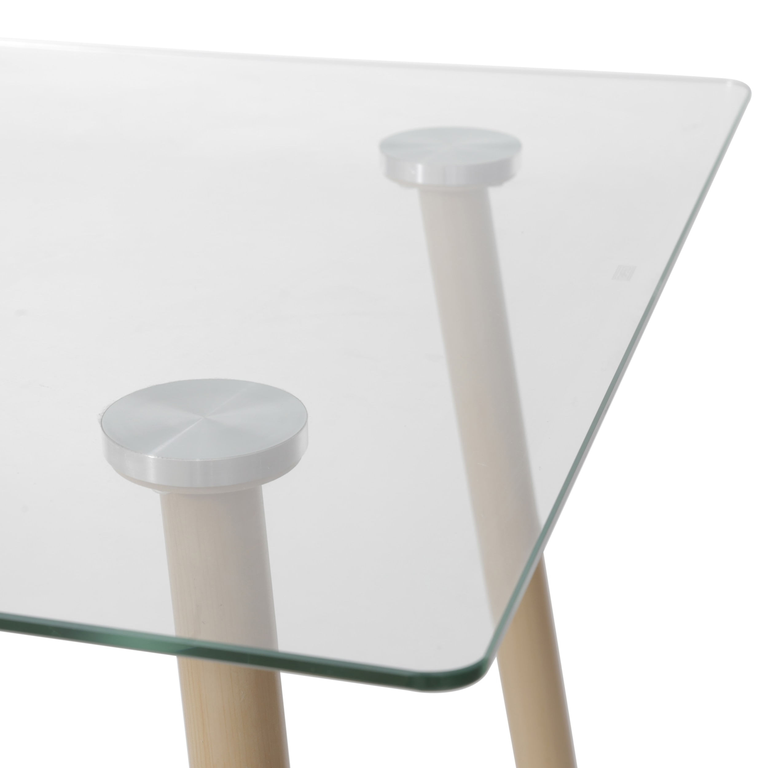 Mesa de Jantar Moderninha em Aco cor Mel 1,20MT (LARG) - 51846