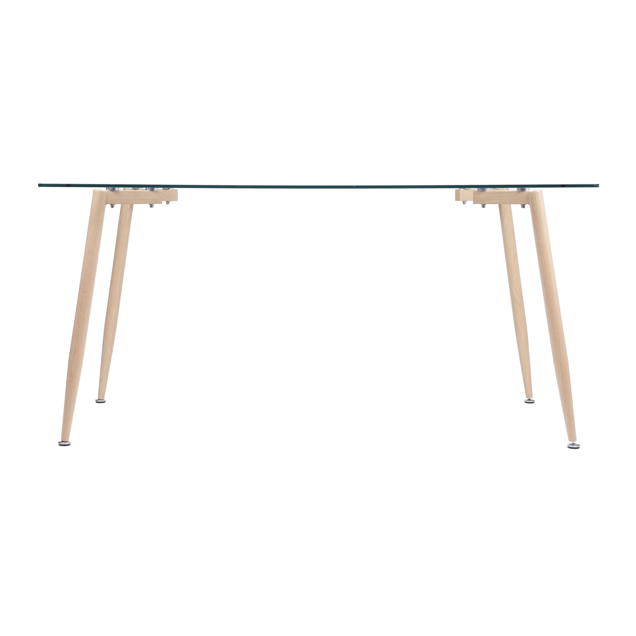 Mesa de Jantar Scandinavian em Aco Cor Mel 1,40MT (LARG) - 51860