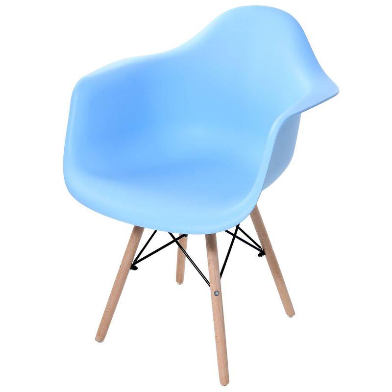 Cadeira-Arm-com-Braco-Azul-Fosco-Base-Madeira-Clara---51954
