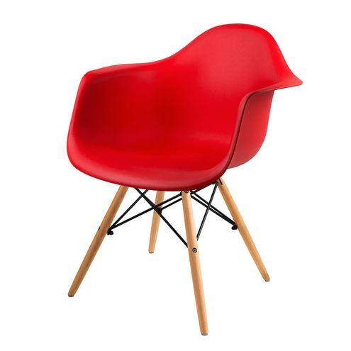 Cadeira-Arm-com-Braco-Vermelha-Fosco-Base-Madeira-Clara---51957